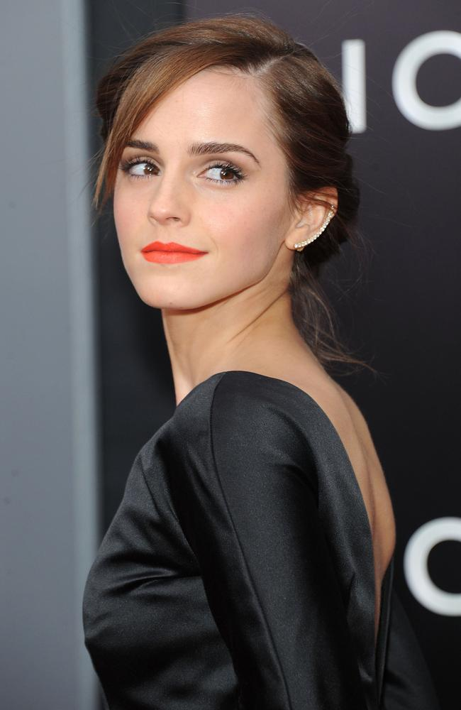 "Emma Watson attends the ""Noah"" New York premiere in March. Photo by Jamie McCarthy"