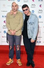 DMA's arrive on the red carpet for the 30th Annual ARIA Awards 2016 at The Star on November 23, 2016 in Sydney, Australia. Picture: AAP