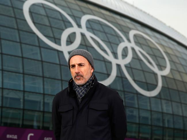 Today show host Matt Lauer was fired over allegations of sexual misconduct at the 2014 Sochi Olympics. Picture: Getty
