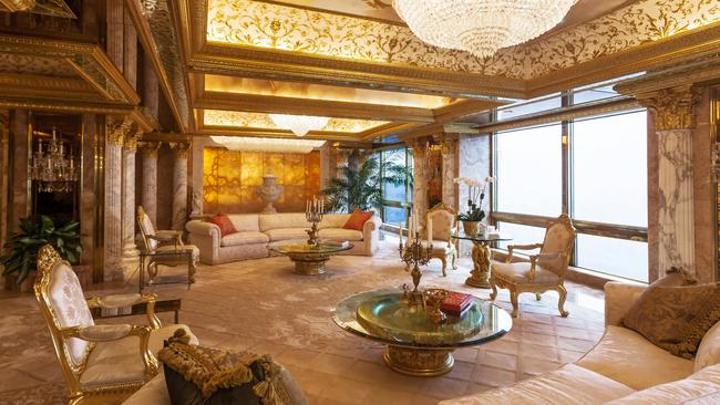 Donald Trump S New York Penthouse Inside His Trump Tower