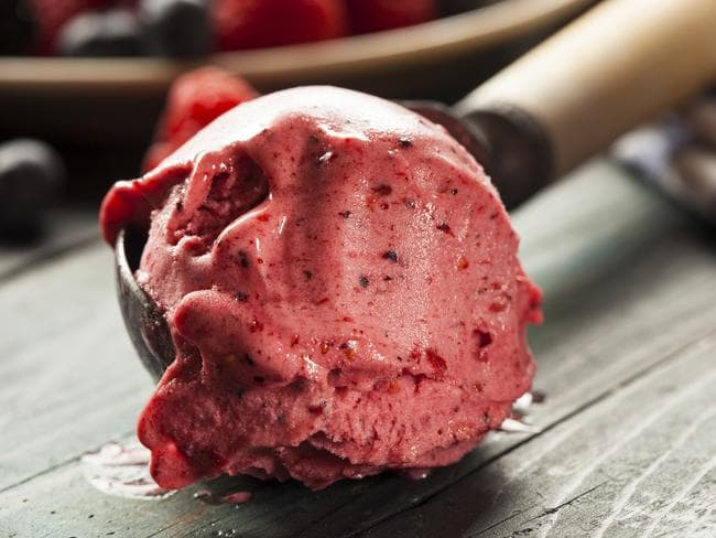 Got a sweet tooth? Replace your chocolate or caramel ice cream with a fruit sorbet.