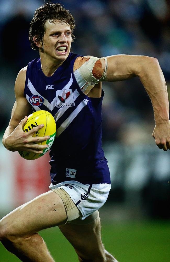 Ineligible Fremantle star Nathan Fyfe is a strong chance to finish with the most Brownlow votes this season.