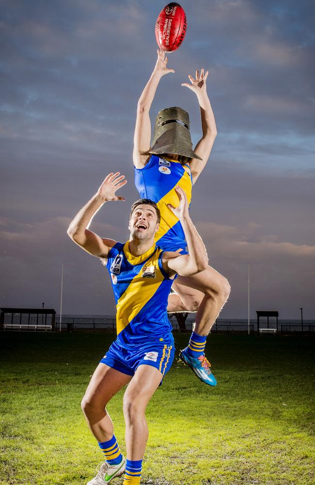 Ned Kelly was apparently on track to win the best and fairest at Williamstown Football Club.