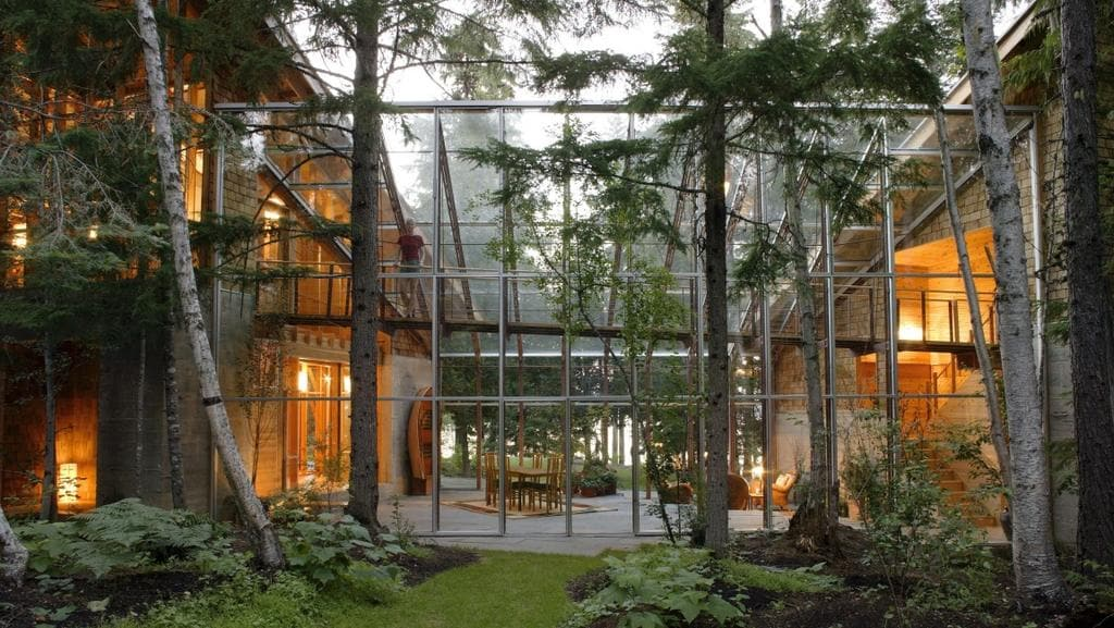 Inside the 200m home of bill gates daily telegraph for Bill gates housse