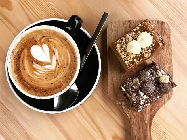 You don't have to just ditch the brownies if you're on a diet. The large mocha or caramel latte isn't doing you any favours either.