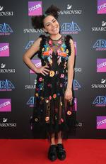 Ash London arrives on the red carpet for the 31st Annual ARIA Awards 2017 at The Star on November 28, 2017 in Sydney, Australia. Picture: Richard Dobson