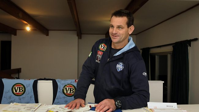Current Manly and NSW Blues assistant coach Matt Parish may take over the reins at Wests Tigers. Picture: Peter Clark