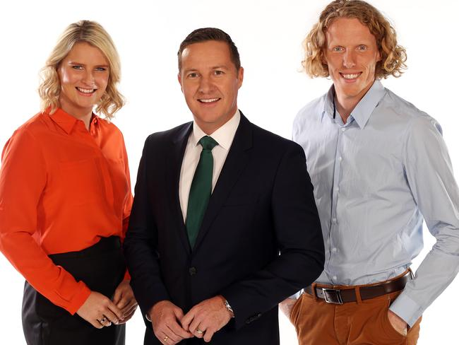 Leisel Jones, Matt White and Steve Hooker have been an integral part of Channel Ten's Commonwealth Games coverage.