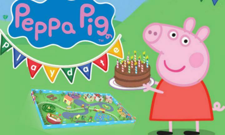 Your first sneak peek inside Peppa Pig world!