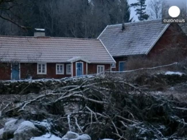Trenneborg's home in Axeltorp, 555km south of Stockholm. Picture: Euronews