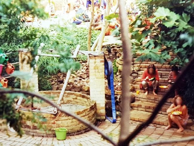 Growing up in a yoga ashram should have been idyllic. Picture: Supplied