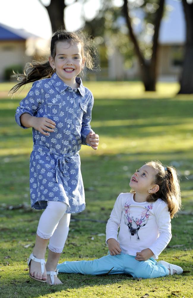 Piper raised $6500 for the child health research charity last year in honour of her sister Ivy – who didn't take her first steps until December.