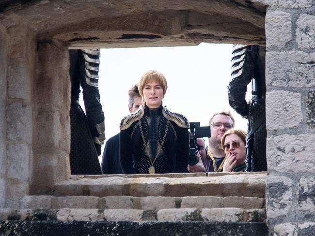 Incidentally, having those two actors in the same location is very interesting. There's one for you to ponder, Thrones fans. Picture: Cropix / Splash News
