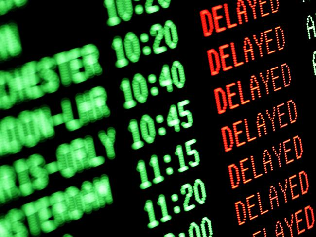 Stupid cause for flight delays