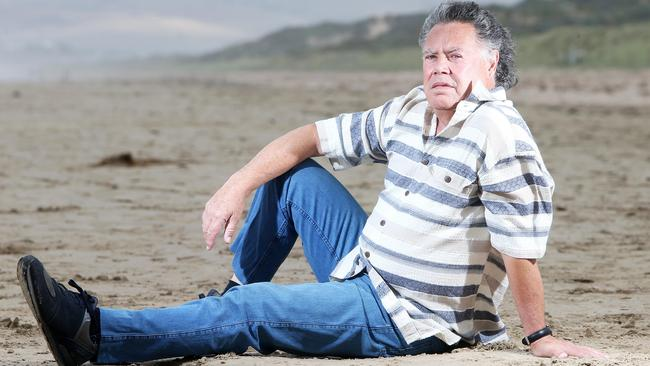 Haitana at Goolwa, in 2013, who repeatedly called for his lifetime ban to be lifted