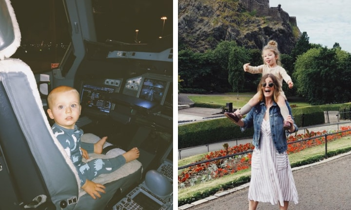 'I just flew to Europe with two kids under four and bloody nailed it'