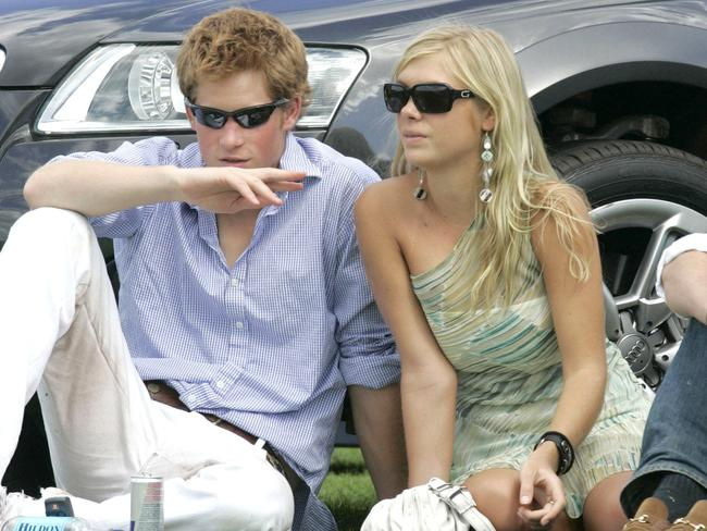 Harry and Chelsy Davy dated on and off for six years. Picture: Supplied.