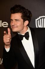 Orlando Bloom attends InStyle and Warner Bros. 73rd Annual Golden Globe Awards Post-Party at The Beverly Hilton Hotel. Picture: Frazer Harrison/Getty Images