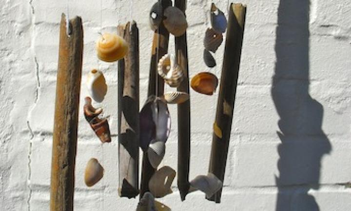 Winter craft: Make a homemade windchime