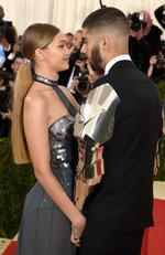 "Gigi Hadid and Zayn Malik attend the ""Manus x Machina: Fashion In An Age Of Technology"" Costume Institute Gala at Metropolitan Museum of Art on May 2, 2016 in New York City. Picture: Getty"
