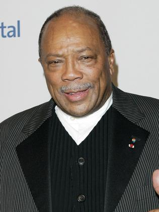 Quincy Jones is a fan of Ivanka Trump's, but not her father's. Picture: Supplied