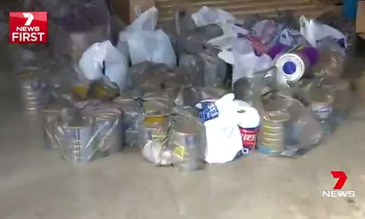Busted: warehouses full of baby formula headed for China