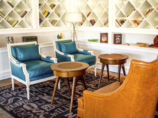 Retro chic at the Lakehouse.