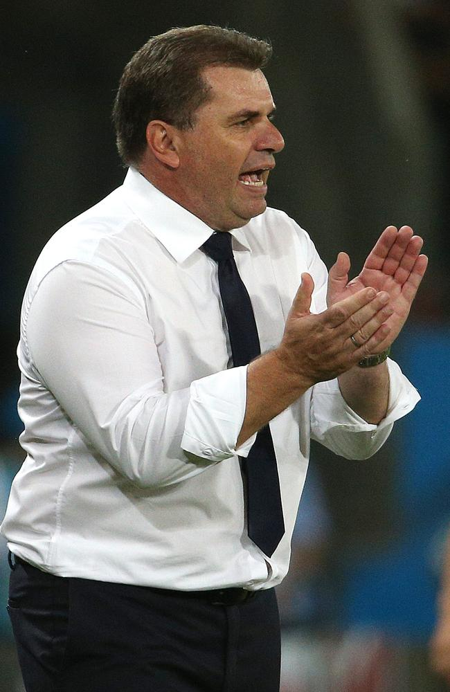 Ange Postecoglou said Australia's World Cup form showed the team is heading in the right direction.