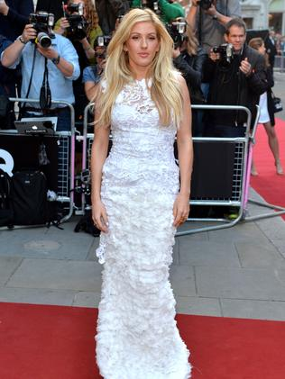 Ellie Goulding attends the GQ Men of the Year awards.