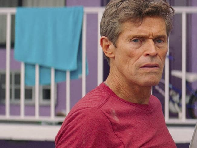 Willem Dafoe was nominated for a Golden Globe for best supporting actor in a motion picture for his role in The Florida Project. Picture: A24 via AP