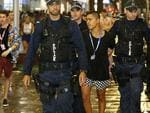 There were 51 non-schoolies arrested on 57 charges, mainly for public nuisance.