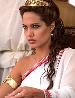 "<p>Actor Angelina Jolie in scene from film ""Alexander"", 2004</p>"