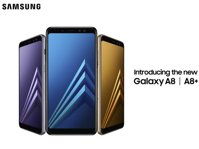 Samsung unveils its new budget Galaxy A8.