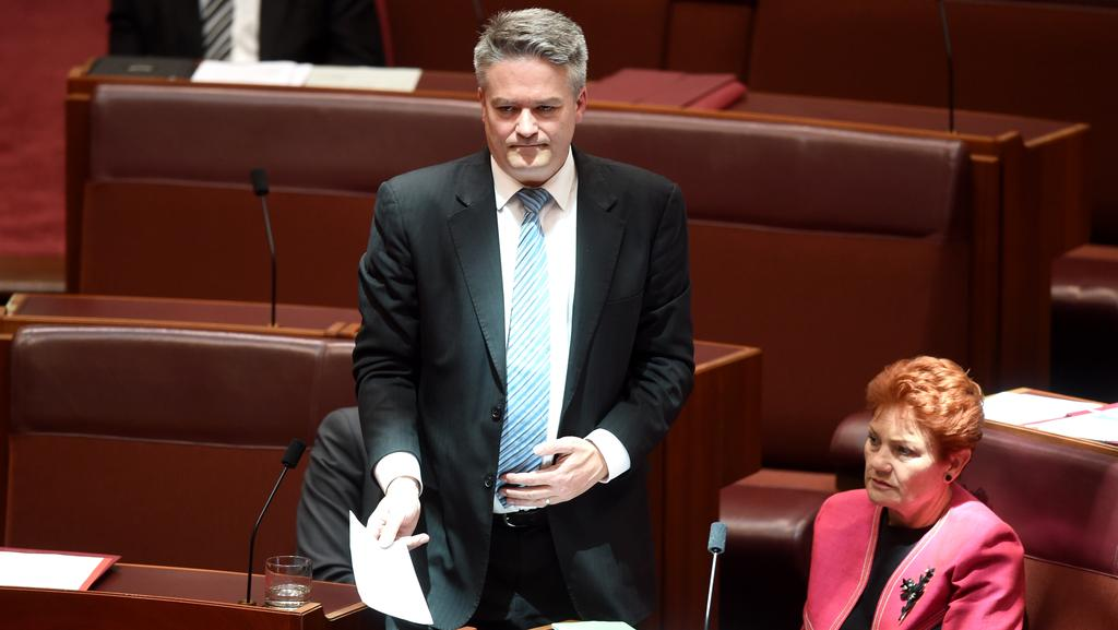 THE Senate has refused to adopt the government's amended plan for a 15 per cent backpacker tax, insisting on a 10.5 per cent rate. PICTURE: AAP