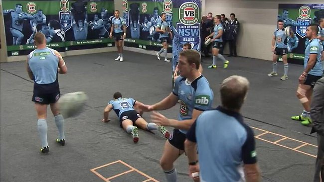 Twitter pic: Inside the NSW sheds.
