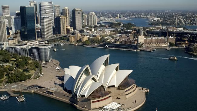 Sydney's property market could be in for a contraction in the next three years.
