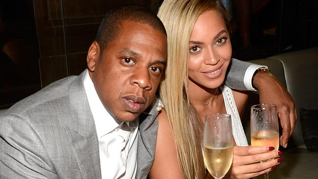 Jay-Z and Beyonce attend The 40/40 Club 10 Year Anniversary Party.