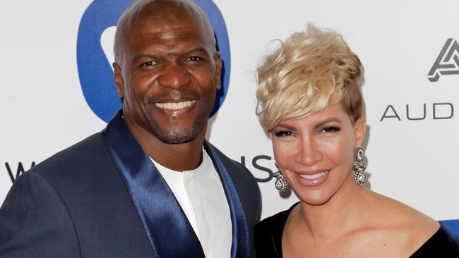 Terry Crews and his wife Rebecca King-Crews.
