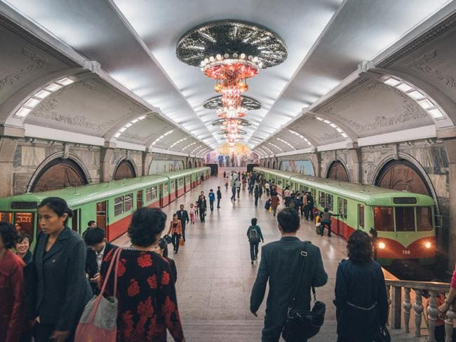 Puhung 'revival' Station in Pyongyang. Picture: Reuben Teo/ Malaysian Photographer and Expert Partner at Tongil Tours