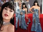 Katy Perry walks the red carpet at the 2014 MTV Video Music Awards, the VMAs. Picture: Getty