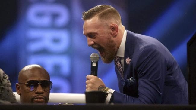 Conor McGregor was knocked out in training, according to Jessie Vargas.