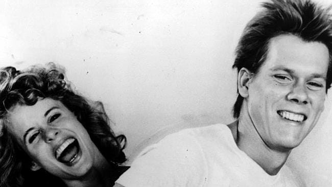 """Kevin Bacon and Lori Singer in """"Footloose""""."""