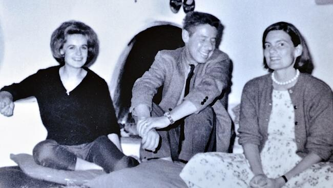 Marina Oswald, widow of Lee Harvey Oswald, with friend Jerre Hastings (c) and Priscilla Johnson (later McMillan,) pose for a photo taken during the time that Johnson befriended Oswald after the assassination of John F. Kennedy. Photo courtesy of Priscilla Johnson McMillan