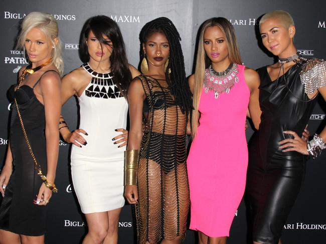 It took two years to put G.R.L. together says singer Lauren Bennett. Picture: Splash
