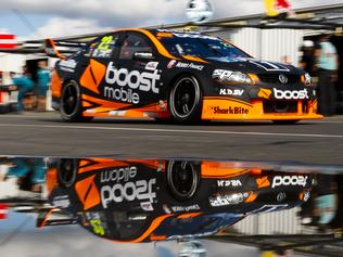 A supplied image of James Courtney of Walkinshaw Racing during the Winton SuperSprint, at the Winton Motor Raceway, Winton, Victoria, Saturday, May 20, 2017. (AAP Image/Mark Horsburgh) NO ARCHIVING, EDITORIAL USE ONLY