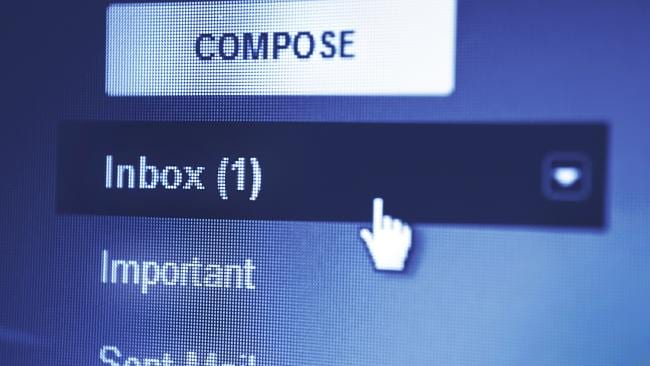 You'll probably have many more unread emails to check than this, but you can live in hope!