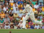 Michael Clarke in action.