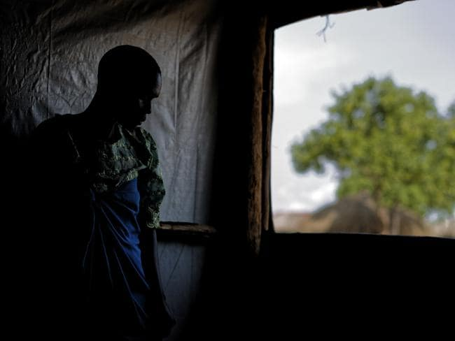 "Four years into South Sudan's devastating civil war, the world's youngest nation is reeling from sexual violence on a ""massive scale"" a new Amnesty International report reveals. Picture: Ben Curtis/AP"