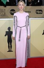 Actor Saoirse Ronan attends the 24th Annual Screen Actors Guild Awards at The Shrine Auditorium on January 21, 2018 in Los Angeles, California. Picture: Frederick M. Brown/Getty Images
