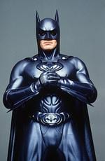 "<p>Actor George Clooney as batman from film ""Batman and Robin.""</p>"